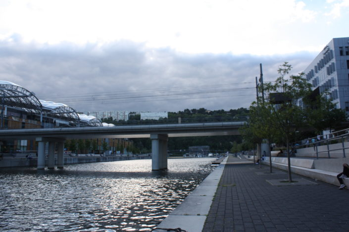 Vue ouest-centre commercial-lyon-confluence