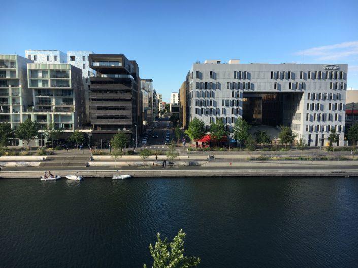 Rue Denuzière-vue perspective-Lyon-confluence